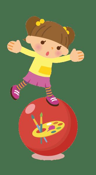dziecko napiłce - zabawy żłobkowe